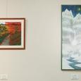 フィリピンからの便り⑪「深山雪景」-No.005 展示風景2