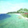 フィリピンからの便り⑤「ボホール島の午後」-No.005(完成)
