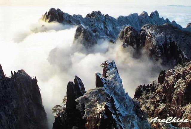 フィリピンからの便り④「雲海の黄山」-No.000(資料)